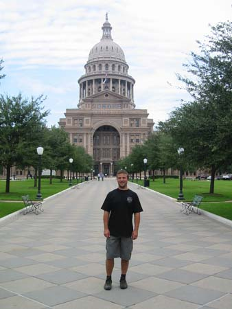 The Capitol in Austin, Texas.